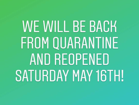 Green Eye Care is Returning From Quarantine