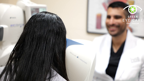 visual field testing helps find early glaucoma vision loss