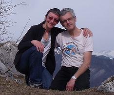 Michel et Nathalie vous accueillent à la chambre d'hôte de l'Abeille Saint Michel, à Marthod, en Savoie