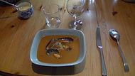 chambre d'hôtes Abeille Saint-Michel (Marthod) : soupe de poisson