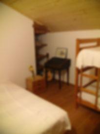 Chambre d'hôte B&B l'Abeille Saint Michel à Albertville (Marthod), en Savoie. La chambre Cabri.