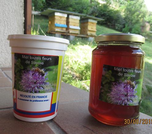 Juillet 2019 deuxème récolte de miel !