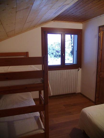 Chambre d'hôte l'Abeille Saint-Michel à Albertille (Marthod), Savoie. La chambre Cabri.
