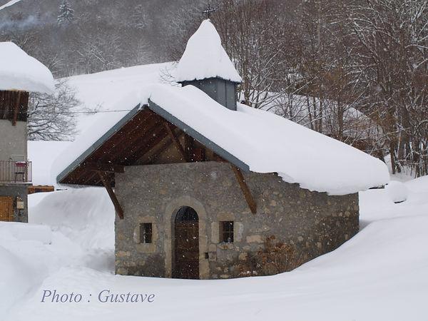 Chambre d'hôtes Abeille Saint-Michel, Albertville (Marthod) , Savoie : la Chapelle du Villard