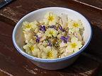Abeille Saint-Michel (Marthod) : salade de fleurs