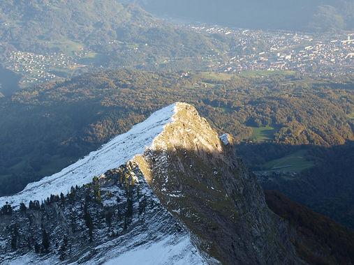 Chambre d'hôtes B&B Abeille Saint-Michel, Albertville (Marthod) Savoie : randonnée à la Dent de Cons