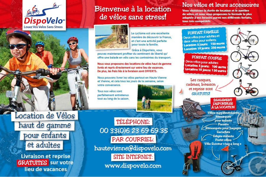 DispoVelo Haute Vienne - Information - F