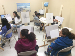 Young at Art Class