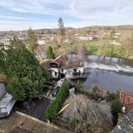 Bourdeilles river Dronne
