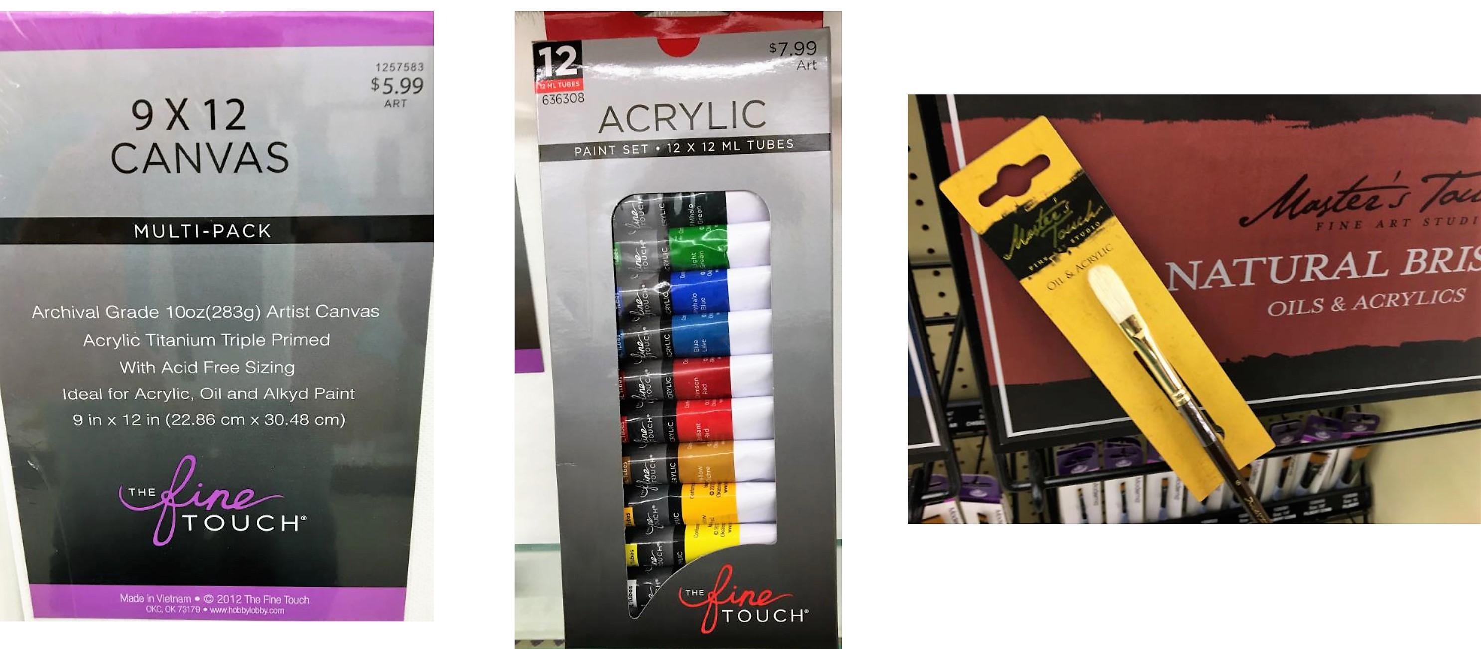 AcrylicPaintingSupplies