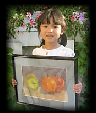 Young at Art Framed work