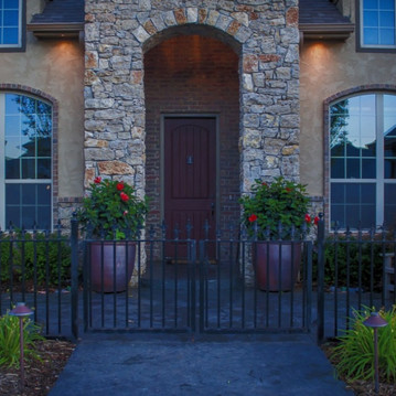 Custom Fence & Trellis by Red Valley Landscape & Construction in North Austin, Texas