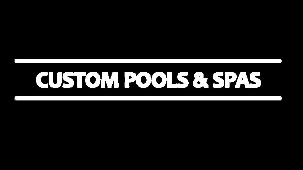 Custom Pools & Spas in Austin Area