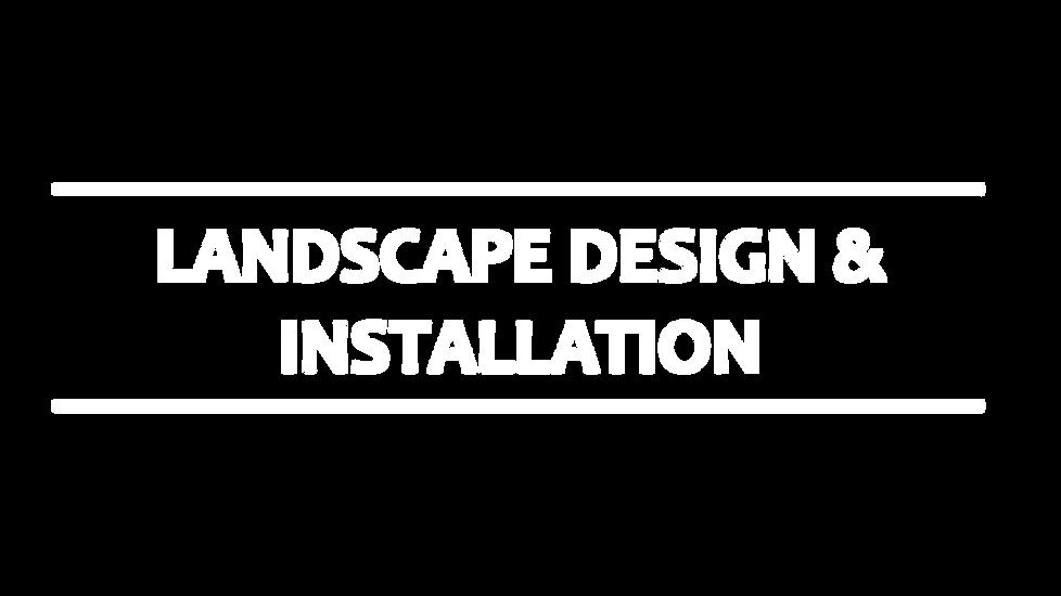 Landscape Design & Installation in ATX