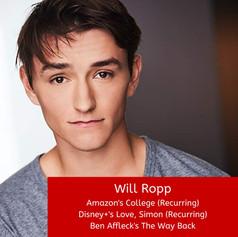 Will Ropp Graham Shiels Studios