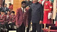 Vispala client wins award from President of India