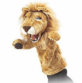 folkmanis poppenkastpop leeuw.jpg