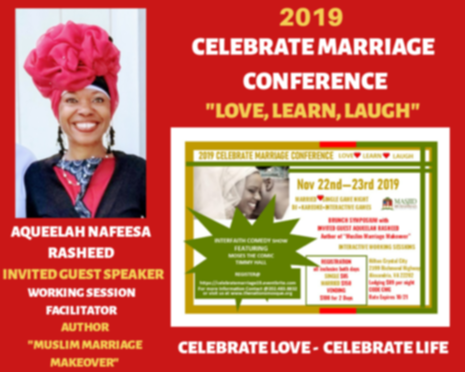 2019 Celebrate Marriage Conference with