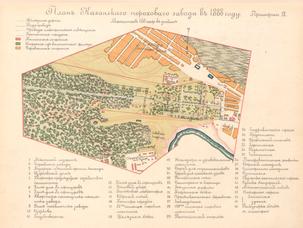 План Казанского порохового завода 1988 года