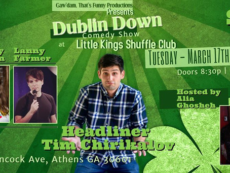 Come Check Out The Dublin Down Comedy Show