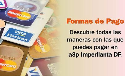 formas de pago a3p imperllanta