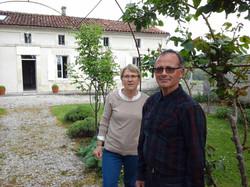 Bernard et Martine vous accueillent