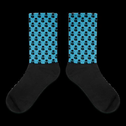 Graphwize Socks Black & Blue