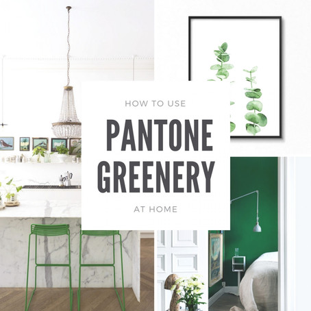 How To Use Greenery In Your Home For Summer 2017