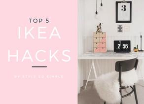 Top 5 IKEA Hacks for 2017