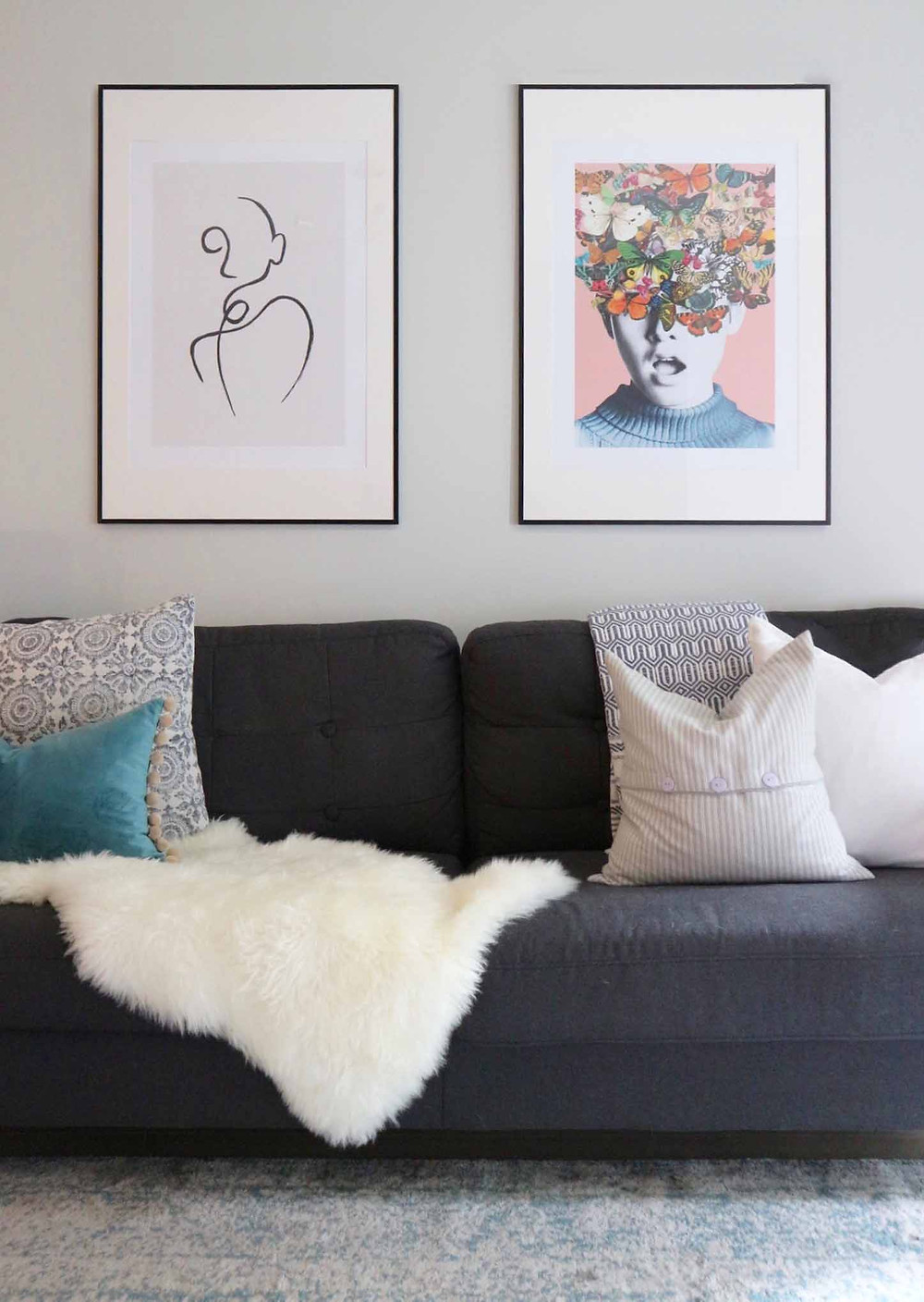 My Apartment - Living Room Wall Art with Desenio