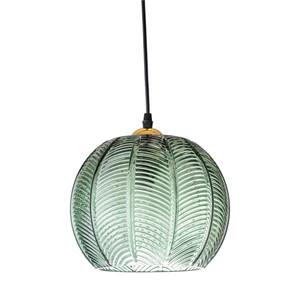 Cult Living - Retro Palm Leaf Glass Pendant Light, Green