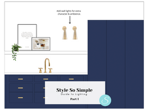 Style So Simple's Guide to Hanging Lighting Part 1...