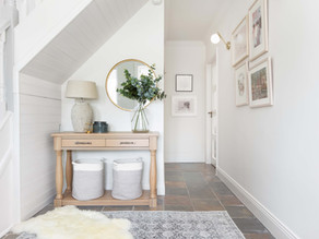 Simple Styled Small Hallway