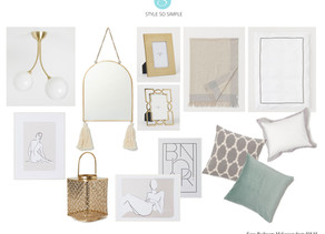 Easy Bedroom Makeover from H&M
