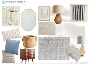 Easy Bedroom Makeover from Zara Home