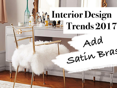 12 Simple Ways To Use Satin Brass In Your Home