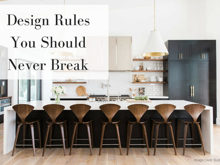 The Design Rules You Should Never Break