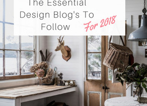Top 5 essential interior design blog's you need to follow for 2018