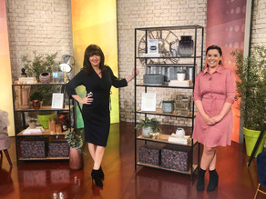 How to Style Your Shelving as seen on RTÉ The Today Show...