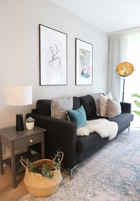 My Apartment - Revamping My Living Room on a Budget...