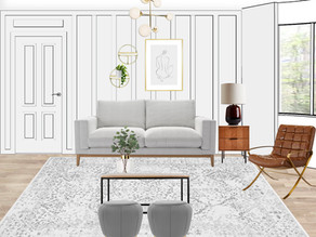 Suzie's Living Room Makeover by Style So Simple