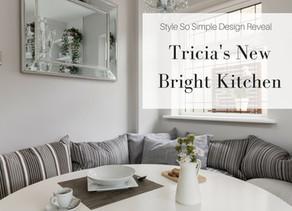 Tricia's New Bright Kitchen