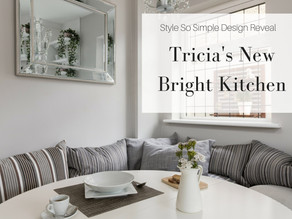 Tricia's New Bright Kitchen