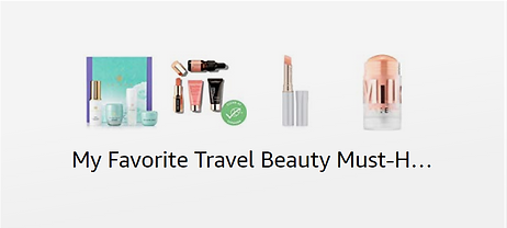 shop my favorite travel beauty essentials on amazon wih prme delivery xoxojho travel blog. Stay fresh looking even on your trip!