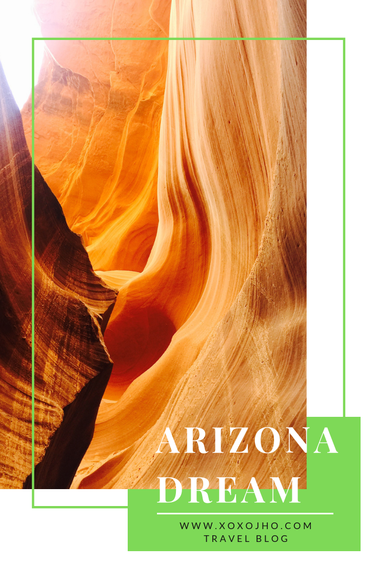 Arizona is photographer's dream read on xoxojho travel blog for more beautiful photographs of lower antelope canyon.