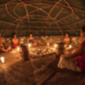 Ceremony during the retreat in Akumal, Mexico | Meditation Retreats, Compassionate Support for Healing