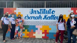 Comissão da OAB-PB realiza ação social no Instituto Sarah Kalley