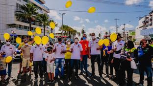 OAB-PB participa da abertura do movimento Maio Amarelo em João Pessoa
