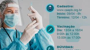 CAA-PB inicia vacinação gratuita contra gripe para a advocacia em todo o estado