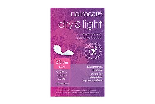 Serviettes Dry & Light - fines - 20 serviettes pour incontinence
